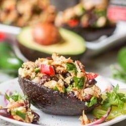 Quick Mexican Tuna Salad {GF, DF}