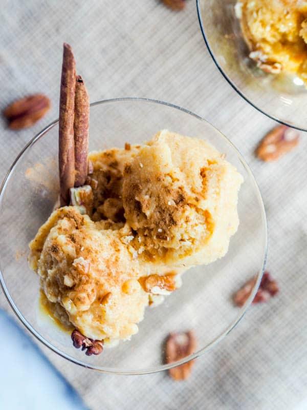 Pumpkin Frozen Yogurt Recipe