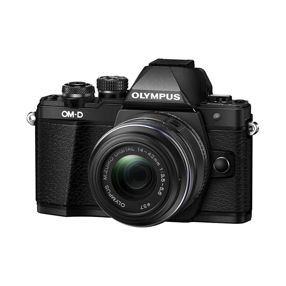 Olympus OM-D E-M10 Mark II Mirrorless Digital Camera with 14-42mm II R Lens