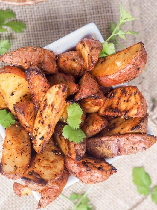 Roasted Potato Wedges Recipe - Crispy