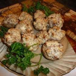 bacon stuffed mushrooms recipe