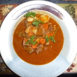 Beef Stew with Carrots and Potatoes {Gluten-Free, Dairy-Free}