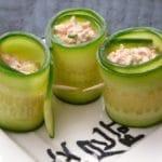 cucumber salmon rolls recipe