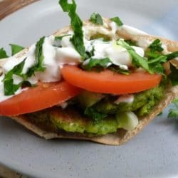 Falafel Patties {Gluten-Free, Vegan}