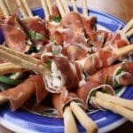 proscuitto wrapped breadsticks recipe