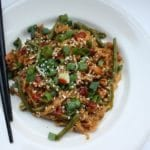 ground chicken stir fry recipe