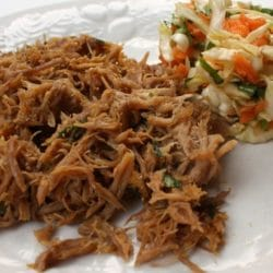 Asian Pulled Pork with Asian Cole Slaw