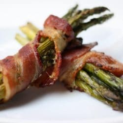 Bacon Wrapped Asparagus Recipe { Gluten-Free }