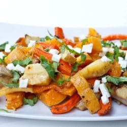 roasted vegetables recipe with