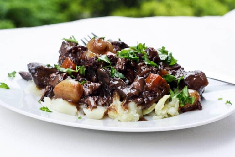Daring Cooks May 2012 – Boeuf Bourguignon