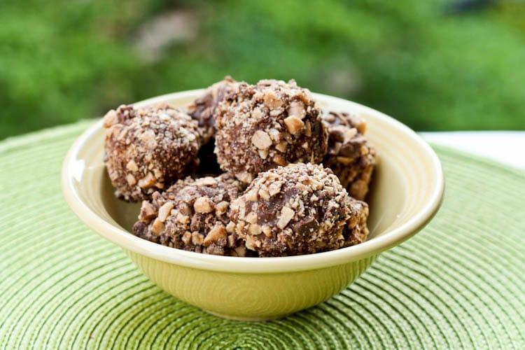 Peanut Butter Graham Cracker Balls Dessert Recipe