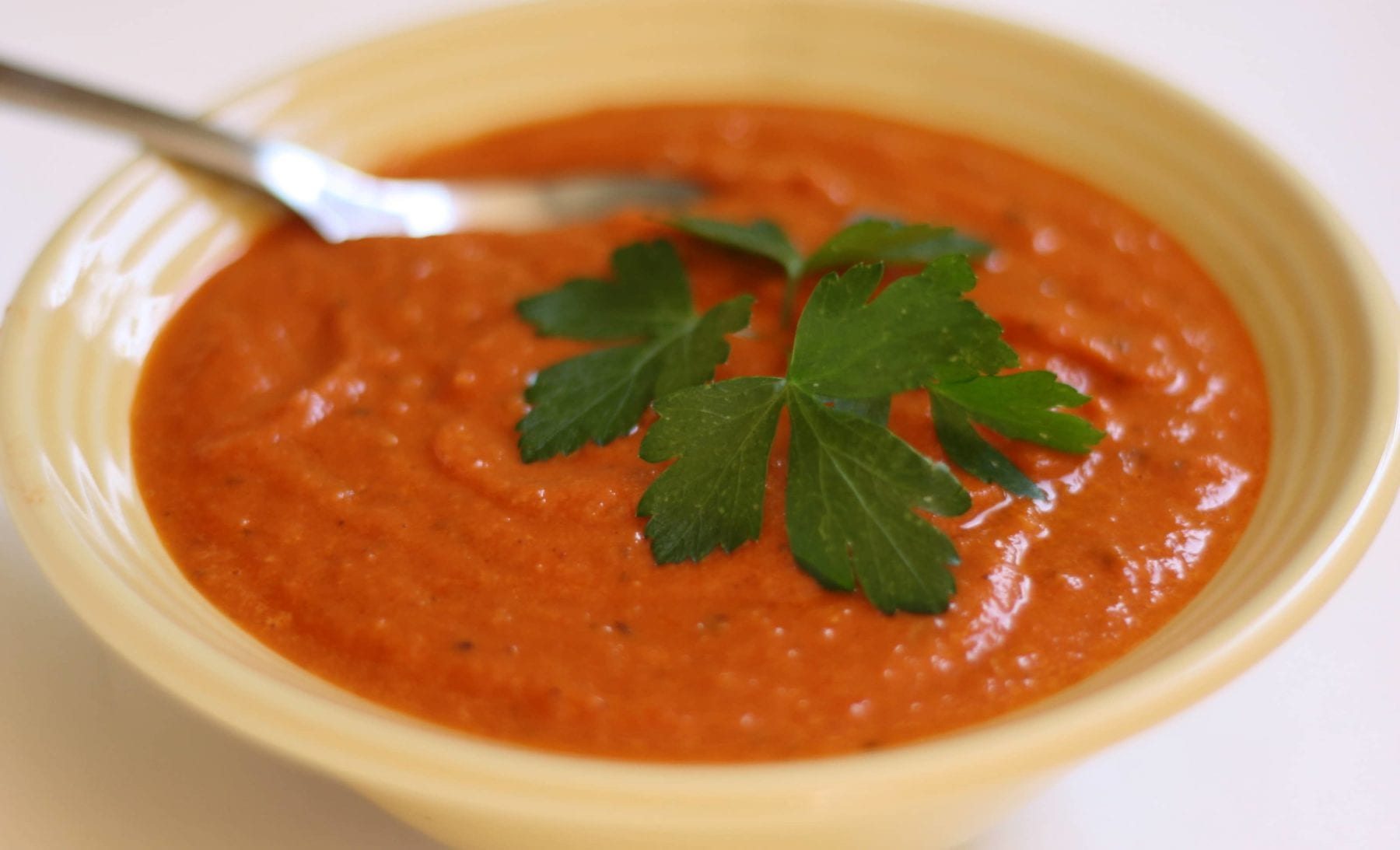 Homemade Creamy Sun Dried Tomato Soup Recipe