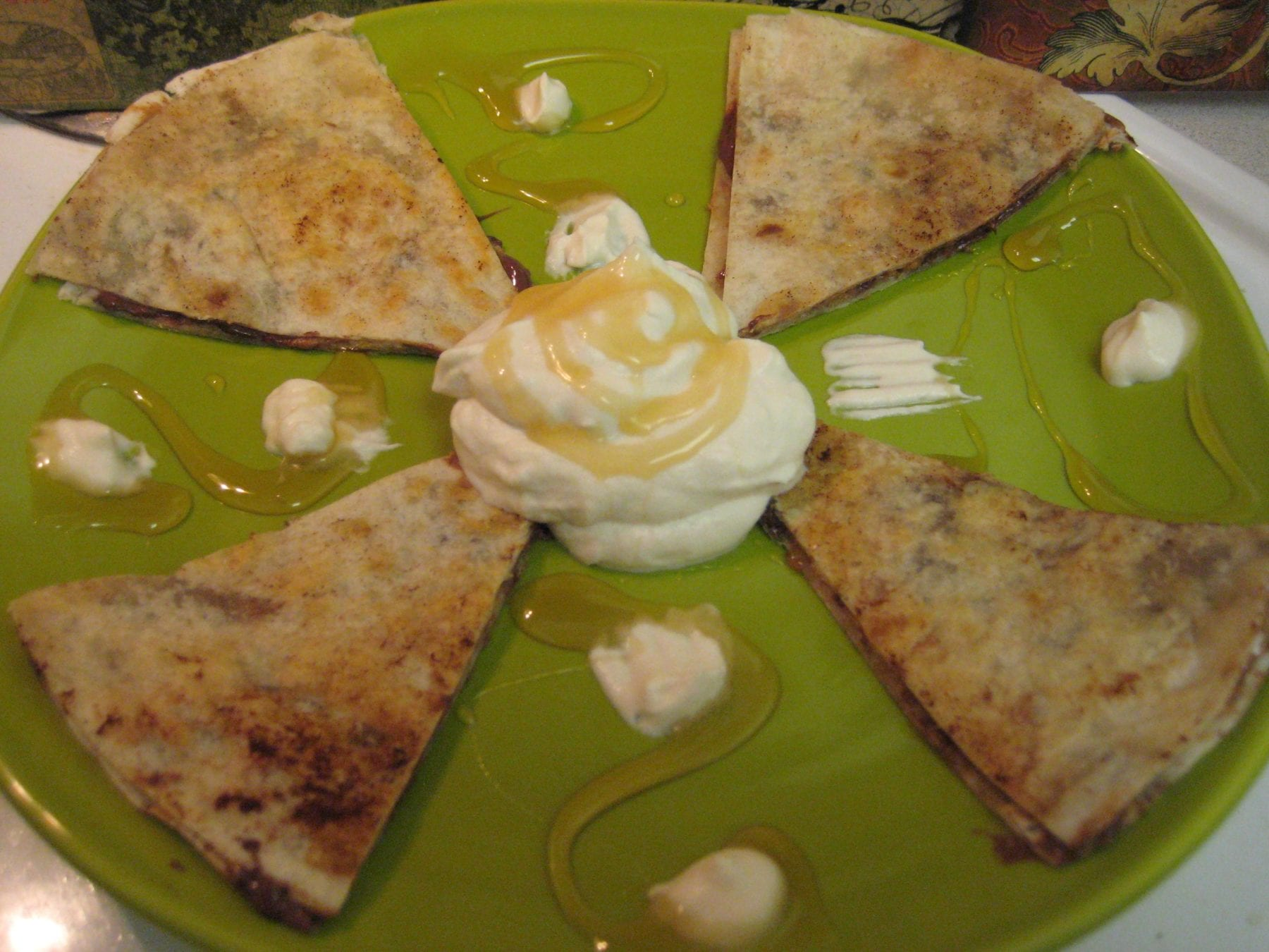sweet tortilla crepes