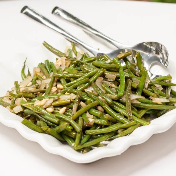 Sauteed Green Beans with shallots