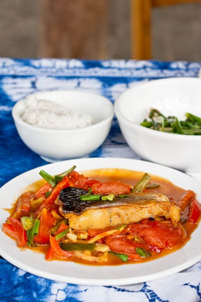 Beer fish easy mouthwatering chinese style beer fish recipe for my first cooking school of all time i chose yangshuo cooking school in yanghsuo china where d and i had been volunteering at an english school for a forumfinder Choice Image