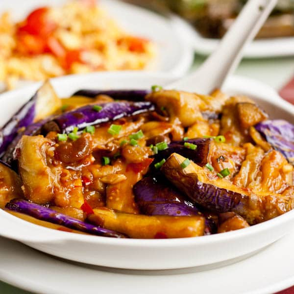 Garlic and Chili Chinese Eggplant Recipe
