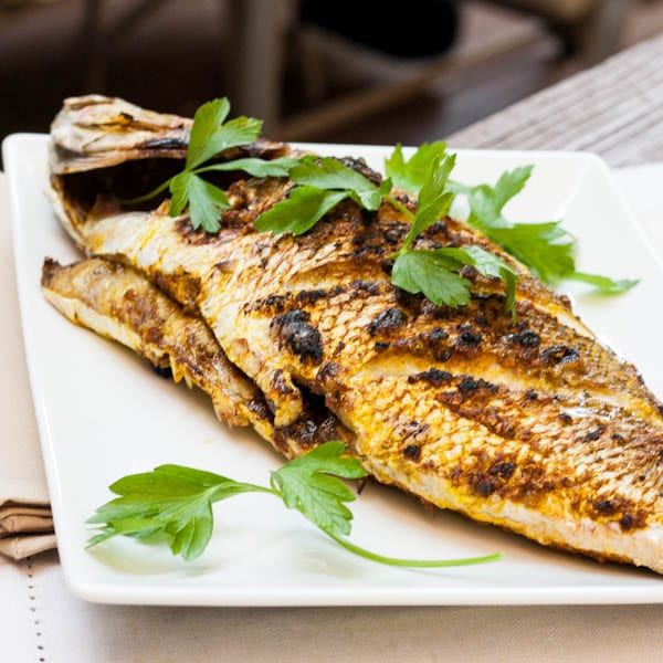 Whole Red Snapper Recipe