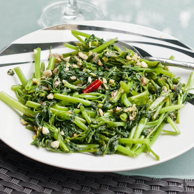 Stir Fried Morning Glory Recipe