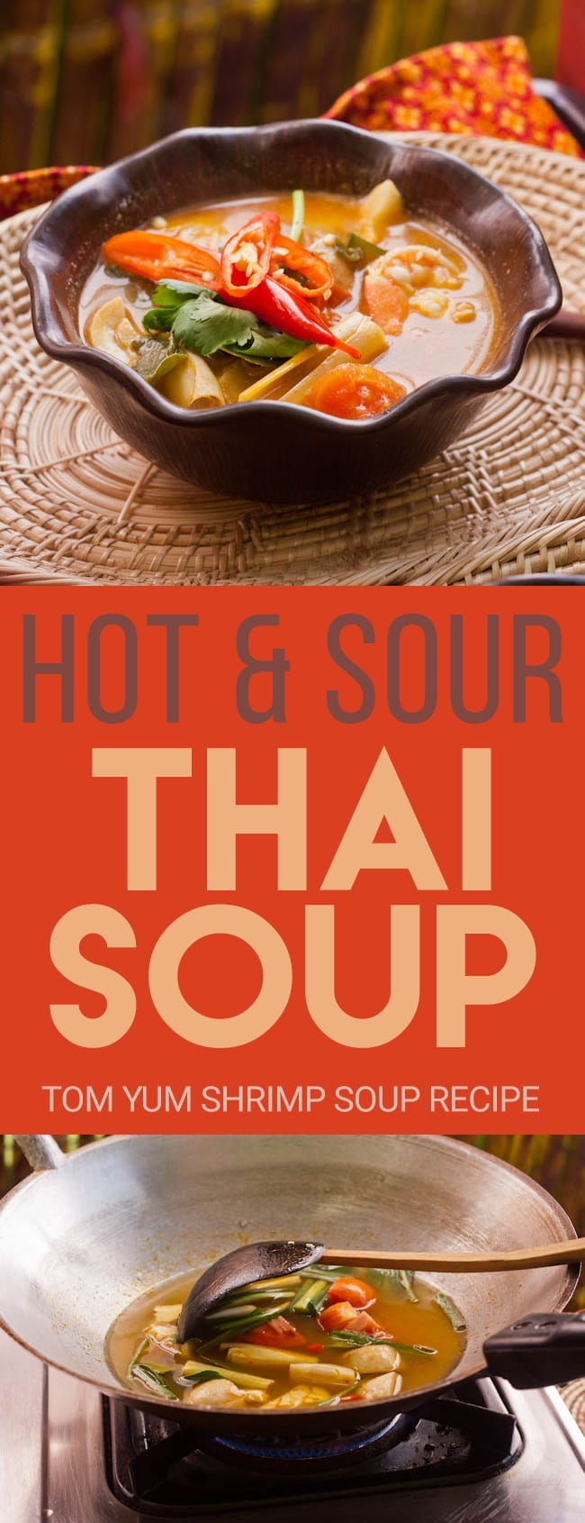 Tom Yum Shrimp Soup Recipe is the most famous and classic Thai hot and sour soup. It is spicy and just brimming with flavor and fragrant Thai ingredients. Easy to make and ready in minutes. A perfect starter to an Asian themed feast. Gluten Free & Dairy Free.