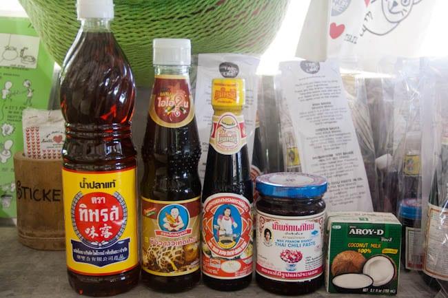 thai cooking sauces