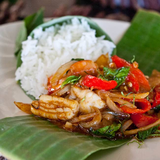 Thai Shrimp stir fry recipe