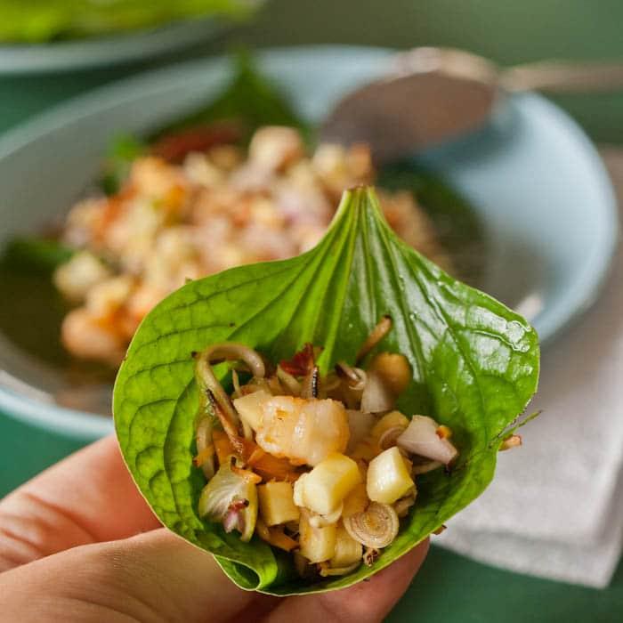 lemongrass salad bites