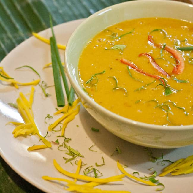 Thai Pumpkin Soup {Gluten-Free, Vegan}
