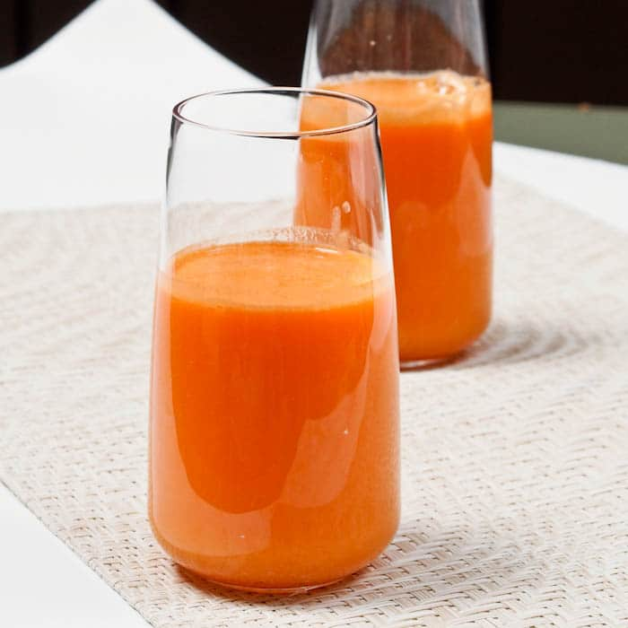 Carrot Fruit Juice