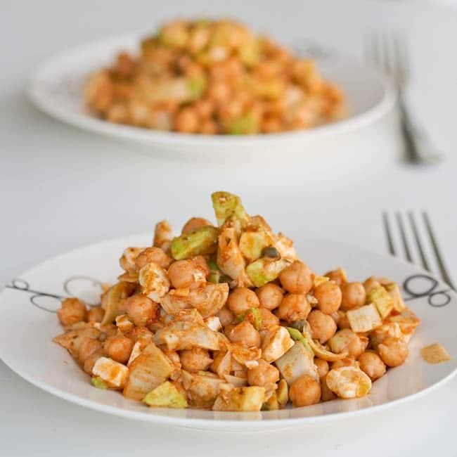 chickpea-artichoke-salad