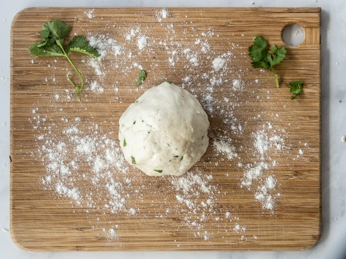 Garlic Naan Dough