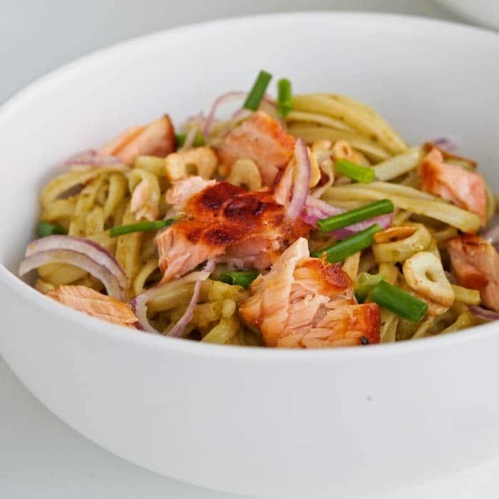 Pesto-Pasta-w-Salmon