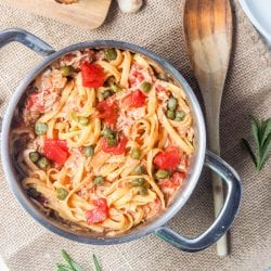 Creamy Tomato Chicken Pasta Recipe