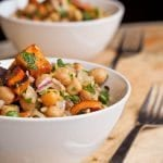 Sweet Potato and Chickpea Salad Recipe