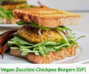 Vegan Zucchini Chickpea Burgers Link