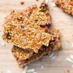 vegan fruit and nut bars