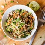 veggie quinoa bowl recipe