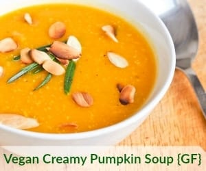 Vegan Creamy Pumpkin Soup