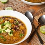 Quinoa Black Bean Pumpkin Soup Recipe