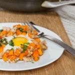 chicken sausage sweet potato hash