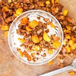Superfood Golden Berry Granola Recipe {GF, Vegan}