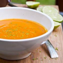 Vegan Sweet Potato Soup Recipe with Apple {Gluten-Free}