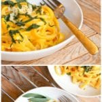 vegan pumpkin pasta pin