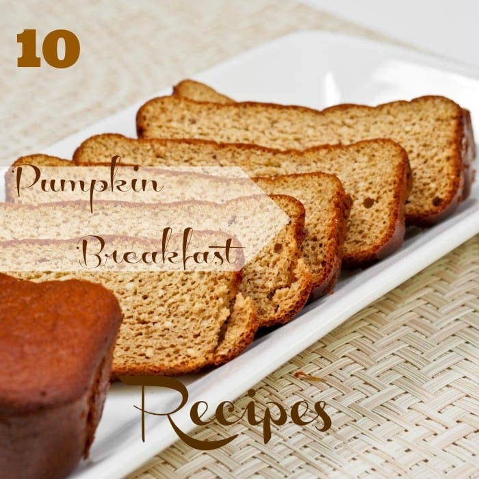 10 Pumpkin Breakfast Recipes