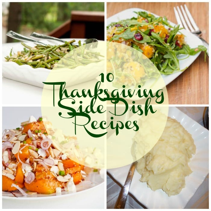 10 Thanksgiving Side Dish Recipes