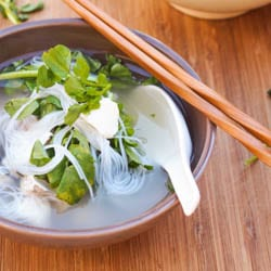 Halibut Soup with Watercress {Asian Flavors, GF, DF}
