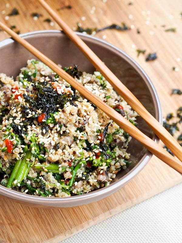 Vegan Asian Bowl with Quinoa