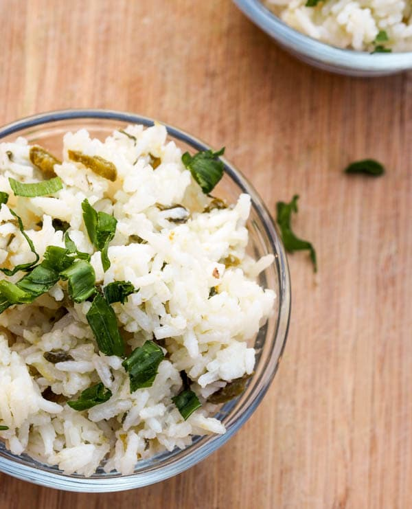 Lime Rice Pilaf