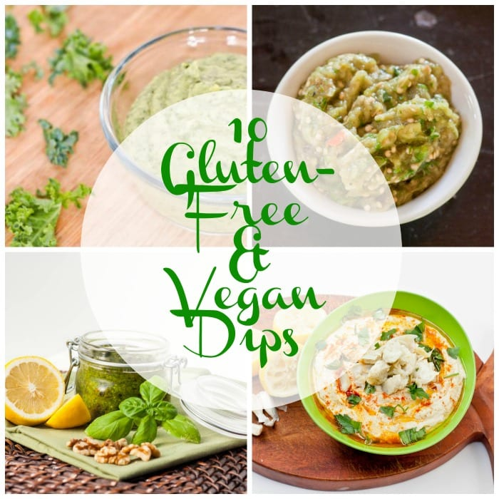10 Deliciously Nutritious Vegan and Gluten Free Dips