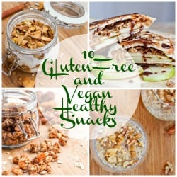Vegan and Gluten Free Snack - 10 Healthy Recipes