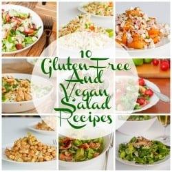 10 Gluten Free and Vegan Salad Recipes
